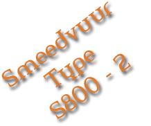 Smeedvuur Type S800-2
